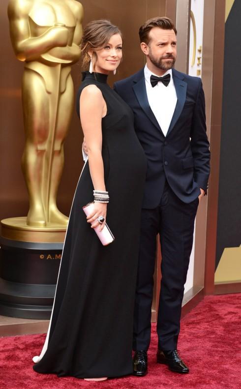 Olivia Wilde tại lễ trao giải Oscar 2015