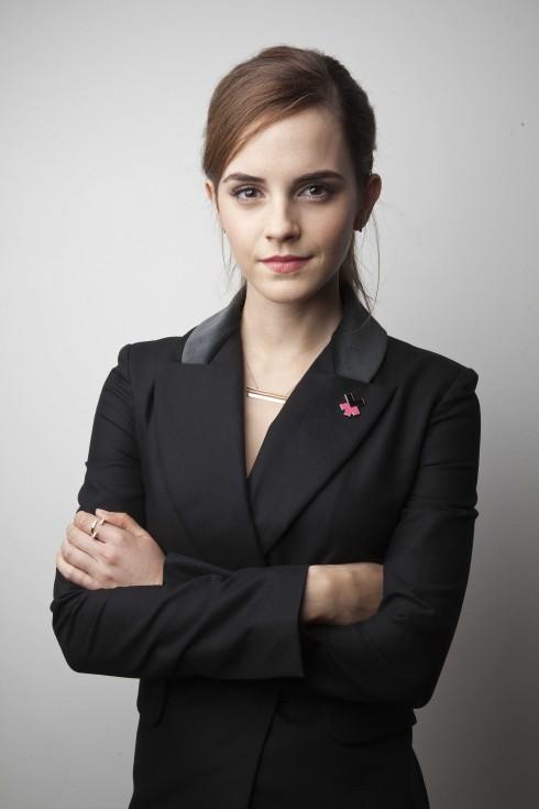 """EMMA WATSON:Với chiến dịch """"HeForShe"""", cô bước vào cuộc chiến giành bình đẳng giới tại Liên  Hiệp Quốc."""