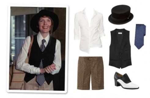 thời trang trong phim Annie Hall - elle vietnam 3