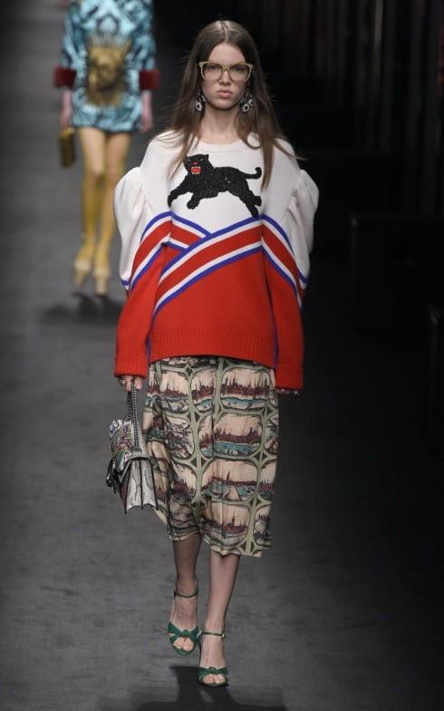 BST Thu-Đông của Gucci tại Tuần lễ thời trang Mila