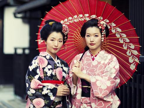 Nhan sắc của những người phụ nữ Nhật Bản