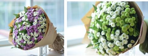 Bó Calimero trẻ trung dành tặng mẹ, bạn bè, cô giáo hay vợ yêu. Một nét chấm phá mới mẻ so với hoa hồng truyền thống. Giá: 382.500 đồng*.