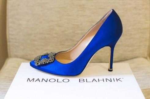 giày cao gót manolo blahnik - ellevietnam