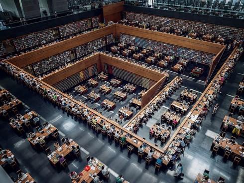24 thư viện sách đẹp nhất thế giới - ELLE.VN