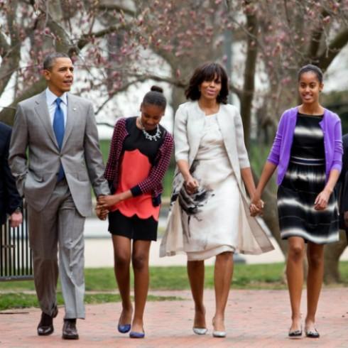 Hình ảnh tuyệt đẹp của gia đình vị tổng thống quyền lực nhất nước Mỹ