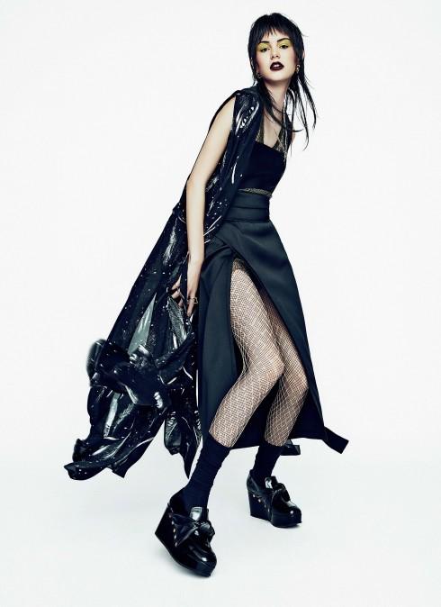 Phong cách thời trang: Glam Punk - ELLE.VN