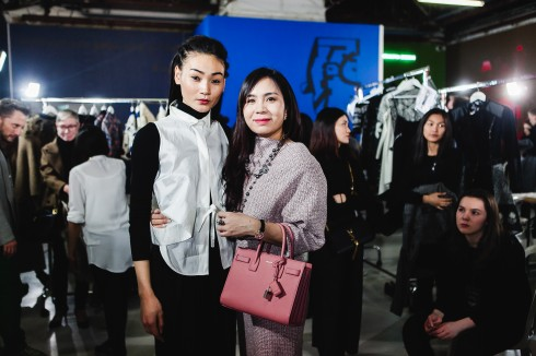 Thuy Trang Paris Fashion Week elle vietnam 07