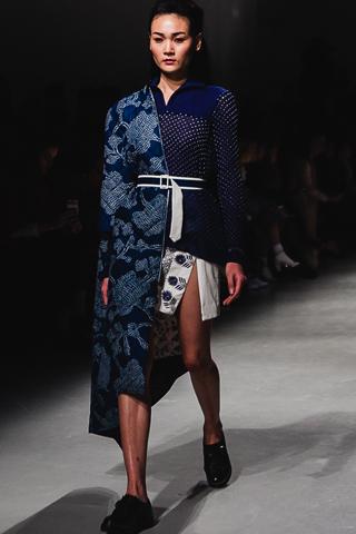 Thùy Trang tại Paris Fashion Week Thu-Đông 2016