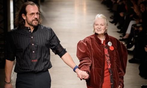 Vivienne Westwood và chồng Andreas Kronthaler