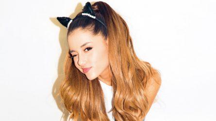 Ariana Grande thử sức làm nhà thiết kế thời trang