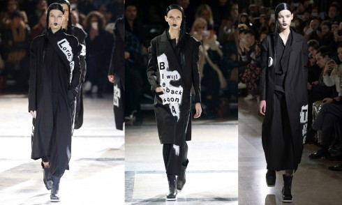 Những mẫu thiết kế slogan của Yohji