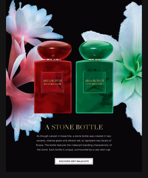 Armani Prive Rouge Malachite và Vert Malachite