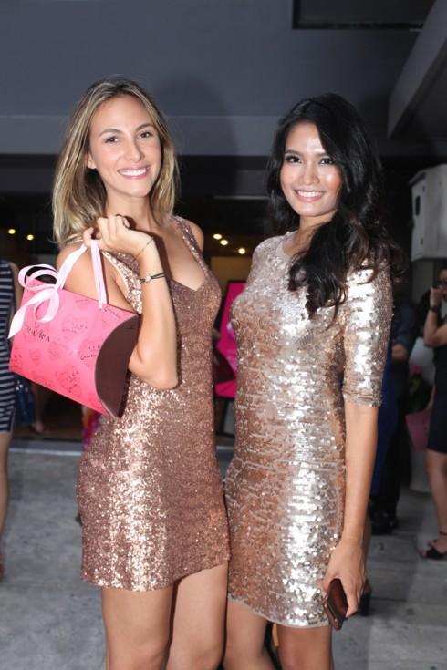 Hoa hậu Venezuela tươi rói tại sự kiện