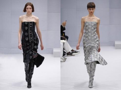 Những chi tiết gấu váy đặc sắc từ Balenciaga