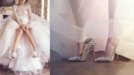 Thương hiệu Jimmy Choo tiết lộ BST giày cưới Xuân 2016