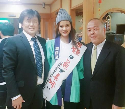 Hương Ly đại diện Việt Nam trình diễn tại show thời trang Nhật Bản 01 ELLE VN