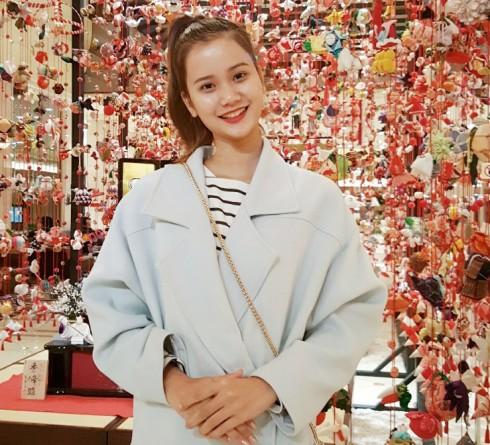 Hương Ly đại diện Việt Nam trình diễn tại show thời trang Nhật Bản 05 ELLE VN