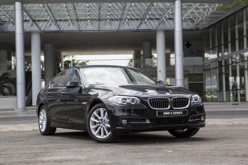 BMW Series 5 mang ngôn ngữ thiết kế điển hình của BMW