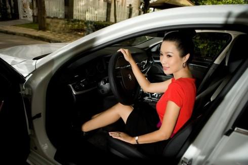 Mẫu xe được giới doanh nhân và nghệ sĩ yêu thích.