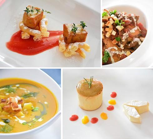 Với set ăn trị giá 1.100.000++VNĐ/người, thực khách sẽ tham gia chuyến du hành ẩm thực thú vị