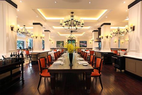 Le Beaulieu - Nhà hàng Pháp cổ nhất tại Hà Nội