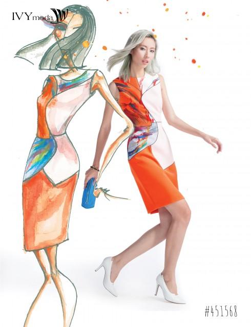 Nghệ thuật hội họa -Họa tiết lên ngôi Thời trang Xuân-Hè 2016 01