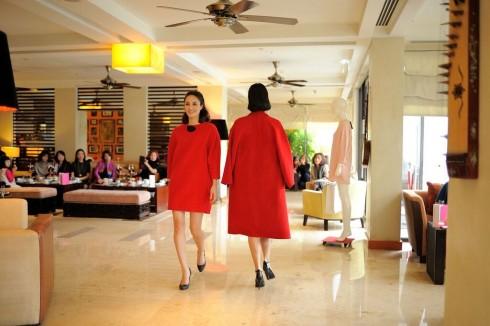 Tiệc trà chiều, thời trang là chương trình thú vị được duy trì hàng tuần tại khách sạn.