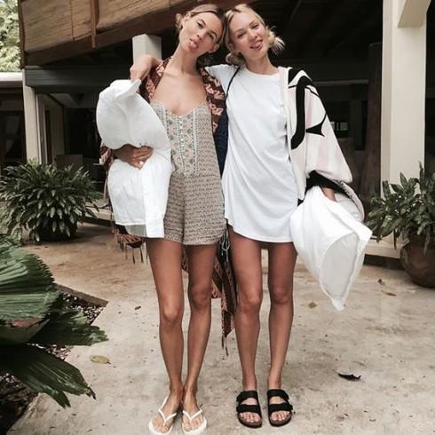 Thien than Candice Swanepoel dang mang thai – ellevn - 10