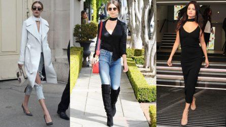 6 biến tấu phong cách thời trang với áo cổ choker