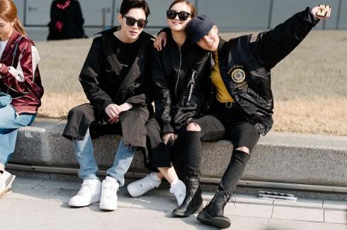 Học cách phối đồ qua tuần lễ thời trang Seoul -elle Vietnam 01