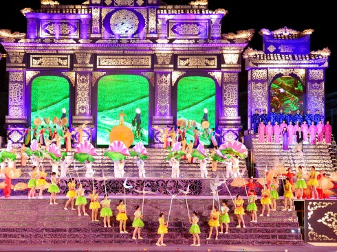 Festival Huế sẽ khai mạc từ ngày 29/4