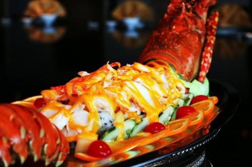 Thực đơn hải sản cũng hoàn toàn mới tại nhà hàng Ming.