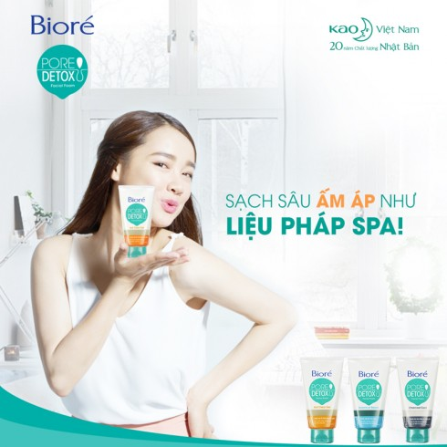 Bộ ba sản phẩm Bioré Pore Detox đang là giải pháp tối ưu cho bạn gái hiện đại