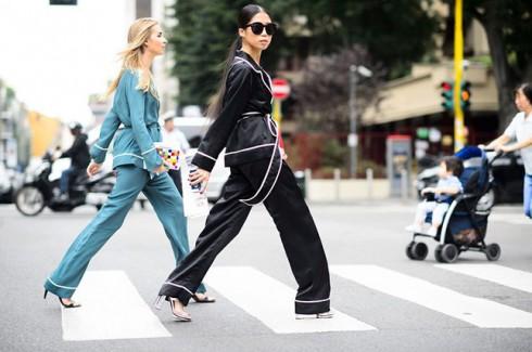 5 bí quyết mặc đẹp khi diện trang phục pyjama xuống phố elle vietnam 01
