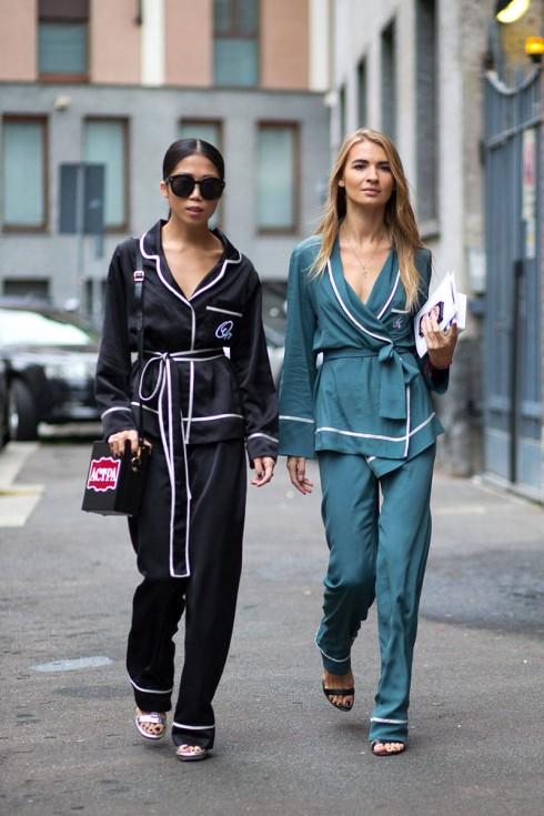 5 bí quyết mặc đẹp khi diện trang phục pyjama xuống phố elle vietnam 03