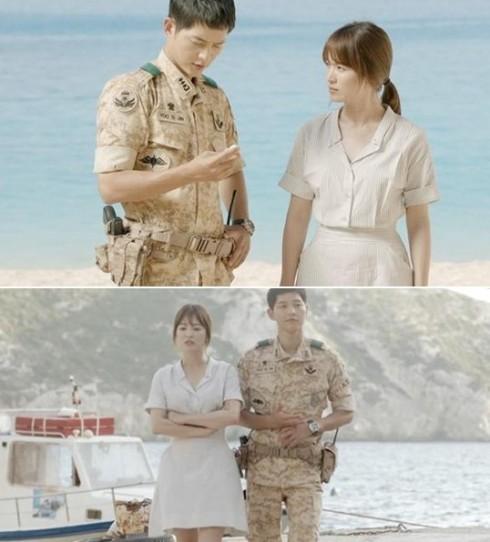 Thời trang của Song Hye Kyo trong Hậu duệ của mặt trời elle vietnam 06