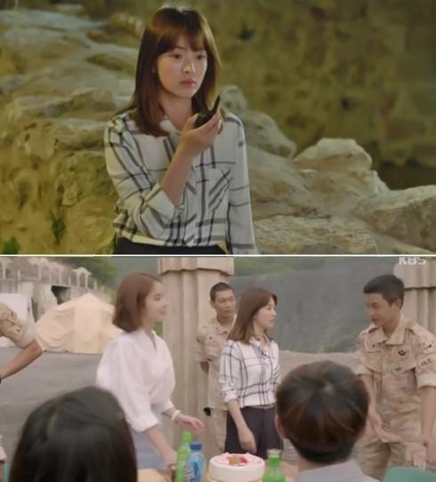 Thời trang của Song Hye Kyo trong Hậu duệ của mặt trời elle vietnam 07