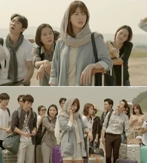 Thời trang của Song Hye Kyo trong Hậu duệ của mặt trời elle vietnam 10 (1)