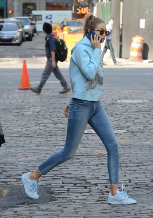 Bộ sưu tập giày giấu đế nữ nữ của người mẫu Gigi Hadi7d