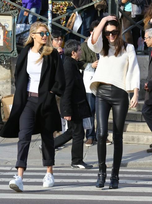 Bộ sưu tập giày giấu đế nữ nữ của người mẫu Gigi Hadi8d