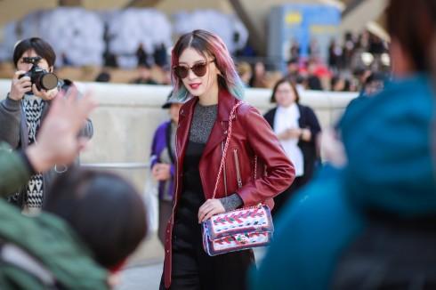 Người mẫu và fashionista Irene Kim luôn cuốn hút mỗi lần cô xuất hiện