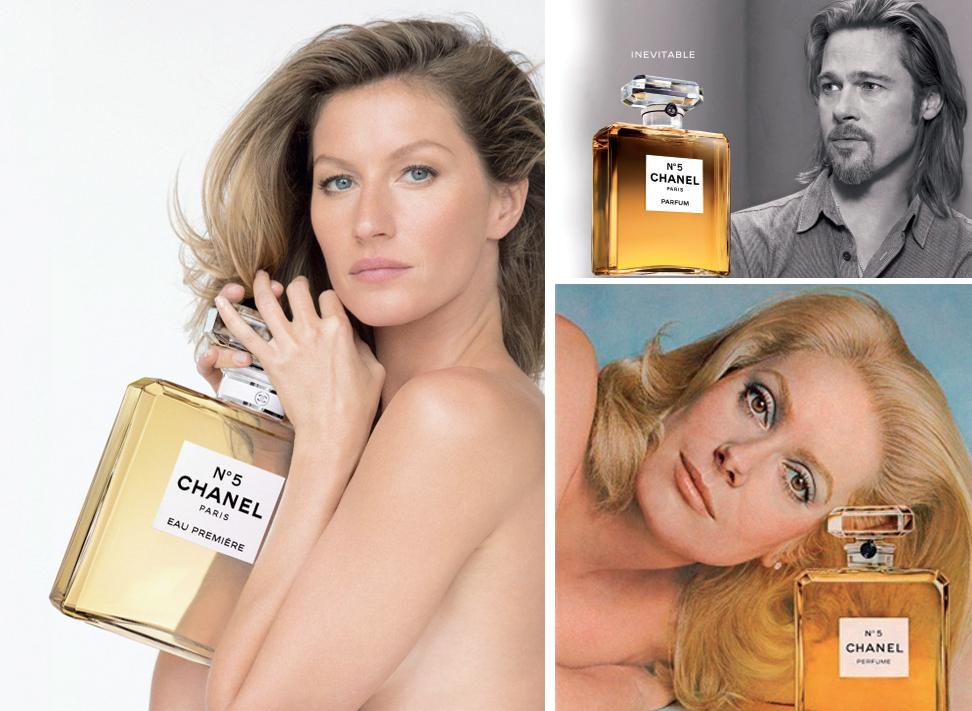 Quảng cáo Chanel No.5 luôn sử dụng những gương mặt đình đám nhất của thời đại