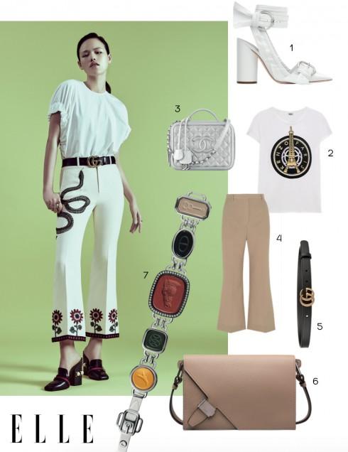 Phong cách thời trang: White story - ELLE.VN