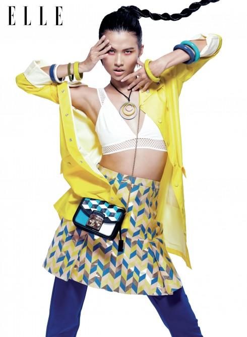 Xu hướng thời trang: Colour Up - ELLE.VN
