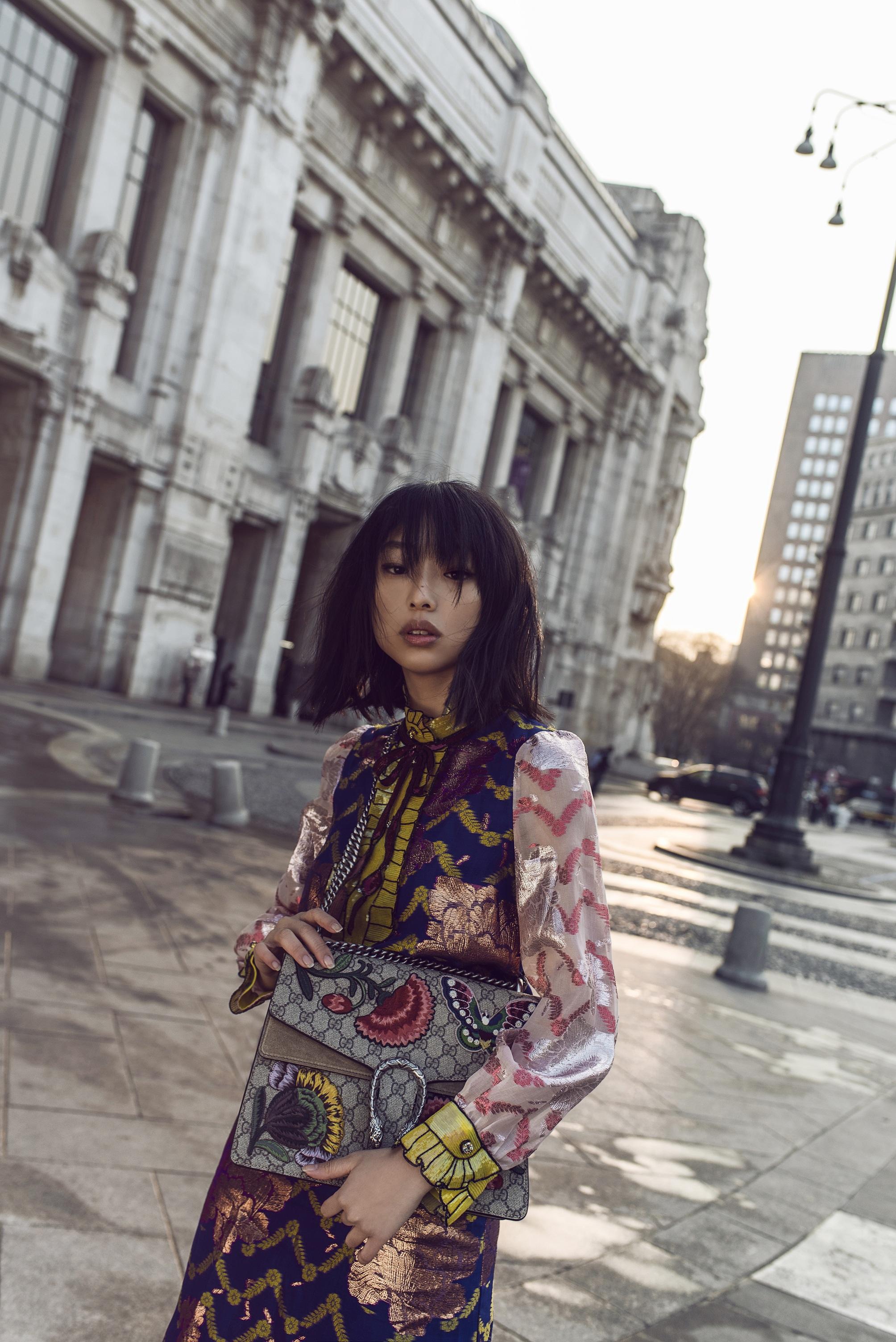 Gucci kết hợp cùng blogger thời trang Margaret Zhang