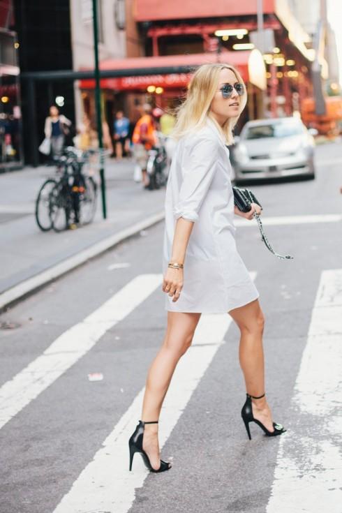 6 Gợi ý cách mặc đẹp đơn giản và cuốn hút với shirt dress elle Vietnam 25
