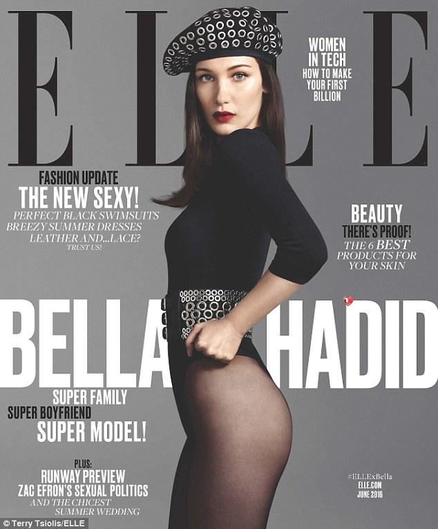 Bella Hadid elle cover