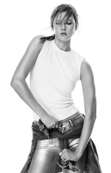Mango ra mắt bộ sưu tập thời trang ánh kim với Karlie Kloss elle Vietnam 07