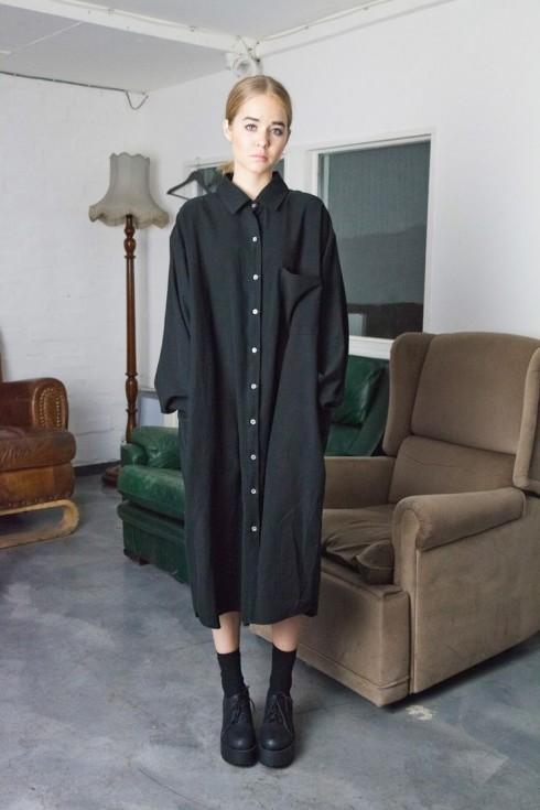6 Gợi ý cách mặc đẹp đơn giản và cuốn hút với shirt dress elle Vietnam 02