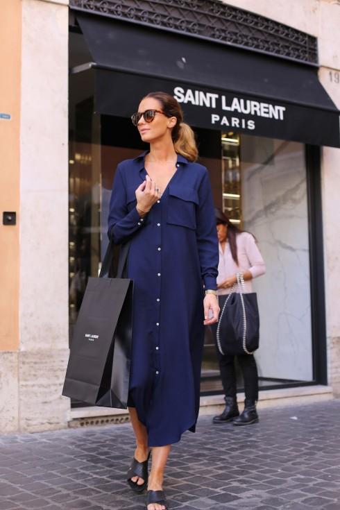 6 Gợi ý cách mặc đẹp đơn giản và cuốn hút với shirt dress elle Vietnam 06